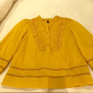 Gold/yellow blouse